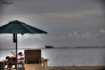 A Couple - Afternoon of Sanur Beach